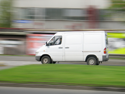 Van tracking system available for domestic and commercial use to stop theft of and theft from vans