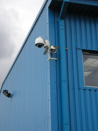 CCTV security systems providing warehouse security here