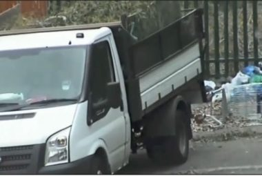 Fly Tipping Caught On Camera