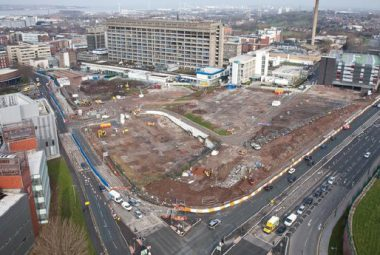 Carillion PLC Construction Site