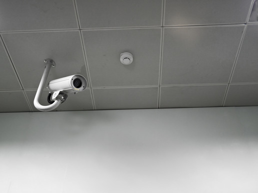 Security Camera Hanging From Ceiling