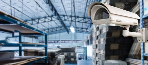 CCTV Camera In Warehouse